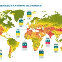New study finds 40% of UK imports come from countries with areas of high water risk